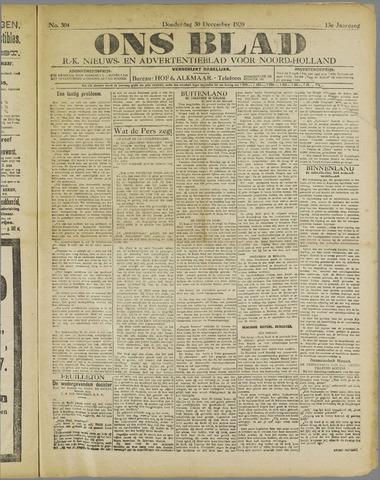 Ons Blad : katholiek nieuwsblad voor N-H 1920-12-30