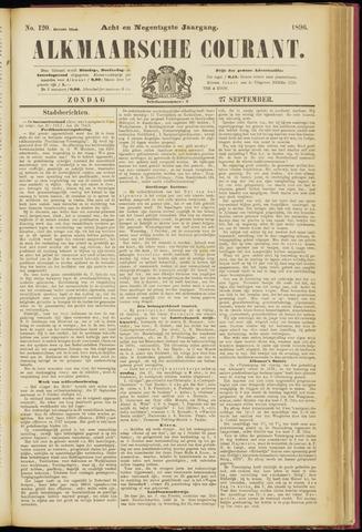 Alkmaarsche Courant 1896-09-27