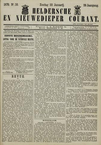 Heldersche en Nieuwedieper Courant 1870-01-23