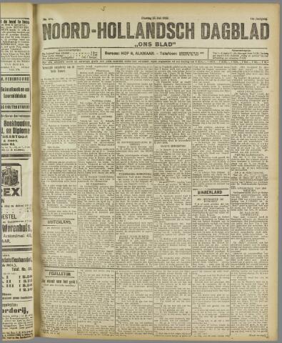 Ons Blad : katholiek nieuwsblad voor N-H 1922-07-25