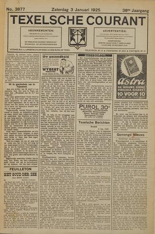 Texelsche Courant 1925