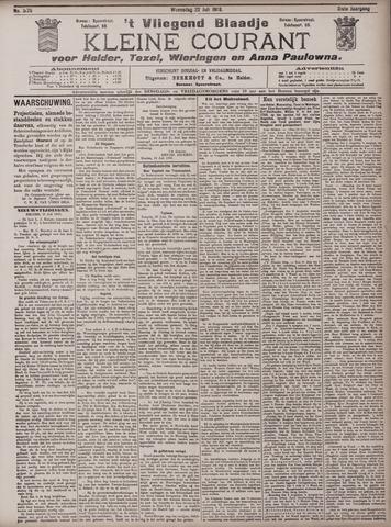 Vliegend blaadje : nieuws- en advertentiebode voor Den Helder 1903-07-22