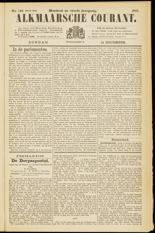 Alkmaarsche Courant 1902-12-14