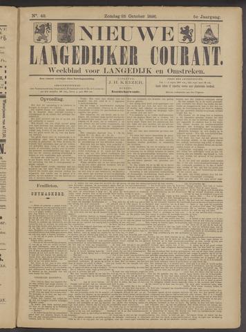 Nieuwe Langedijker Courant 1896-10-25