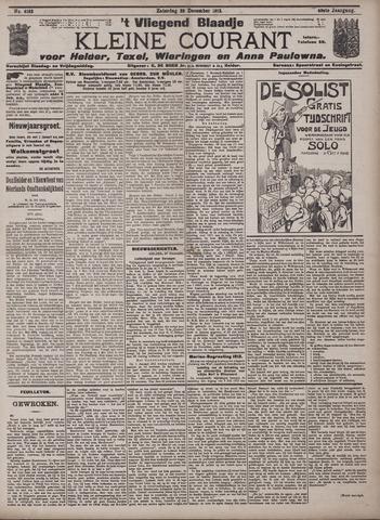 Vliegend blaadje : nieuws- en advertentiebode voor Den Helder 1912-12-28
