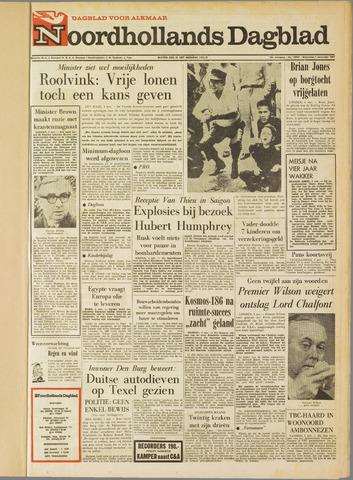Noordhollands Dagblad : dagblad voor Alkmaar en omgeving 1967-11-01