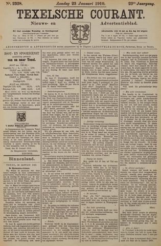 Texelsche Courant 1910-01-23