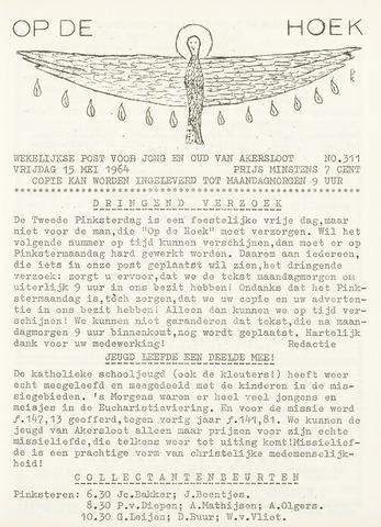Op De Hoek, weekblad voor Akersloot 1964-05-15