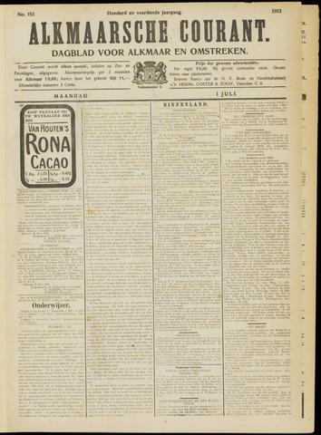Alkmaarsche Courant 1912-07-01