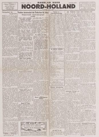Dagblad Noord-Holland, Schager editie 1944-04-15