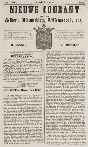 Nieuwe Courant van Den Helder 1864-10-26