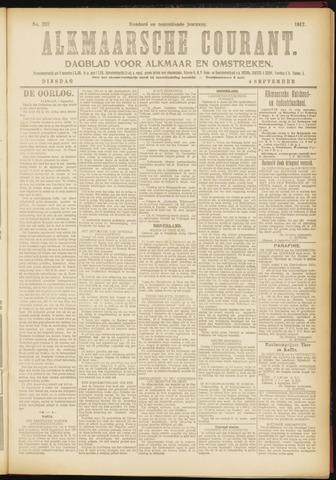 Alkmaarsche Courant 1917-09-04