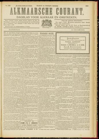 Alkmaarsche Courant 1918-12-21