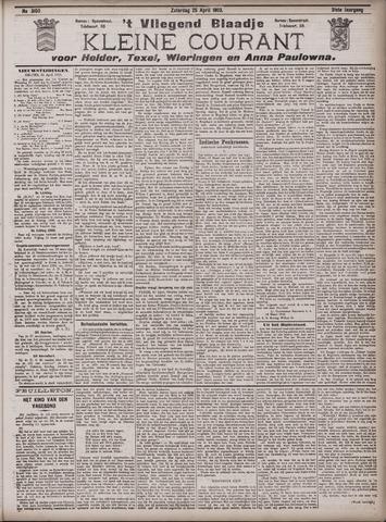Vliegend blaadje : nieuws- en advertentiebode voor Den Helder 1903-04-25