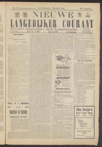 Nieuwe Langedijker Courant 1930-03-01