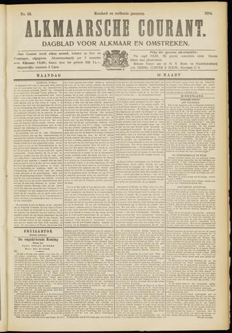 Alkmaarsche Courant 1914-03-16