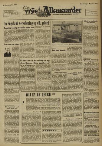 De Vrije Alkmaarder 1947-08-07