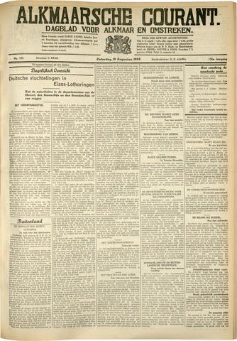 Alkmaarsche Courant 1933-08-19