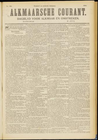 Alkmaarsche Courant 1914-06-27