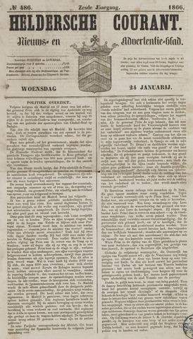 Heldersche Courant 1866-01-24