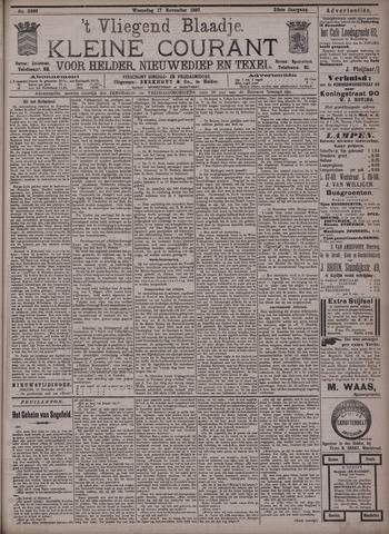 Vliegend blaadje : nieuws- en advertentiebode voor Den Helder 1897-11-17