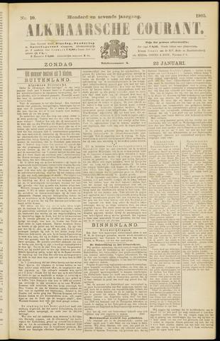 Alkmaarsche Courant 1905-01-22