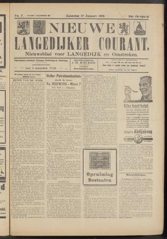 Nieuwe Langedijker Courant 1925-01-17