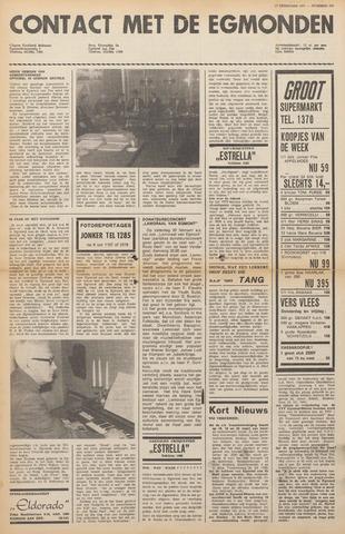 Contact met de Egmonden 1971-02-17