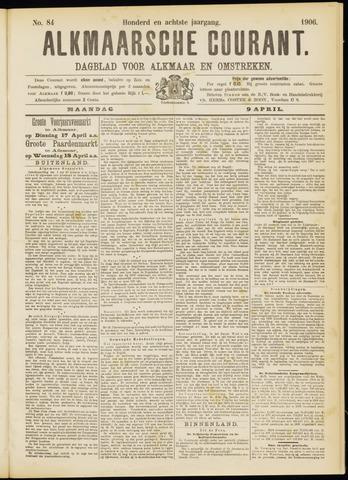 Alkmaarsche Courant 1906-04-09