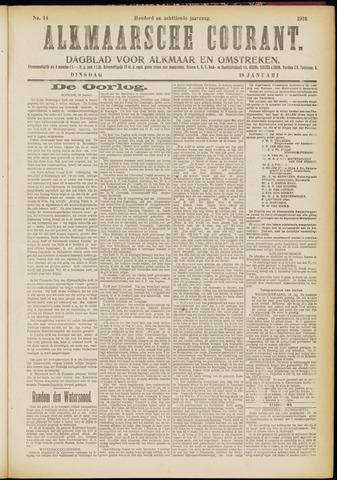 Alkmaarsche Courant 1916-01-18