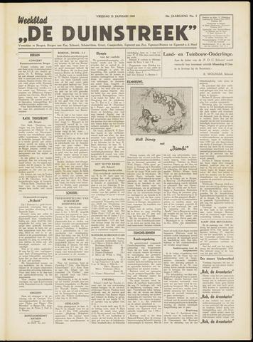De Duinstreek 1949-01-21