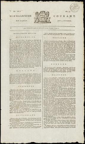 Alkmaarsche Courant 1817-11-24