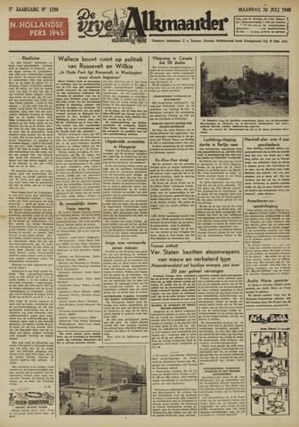 De Vrije Alkmaarder 1948-07-26