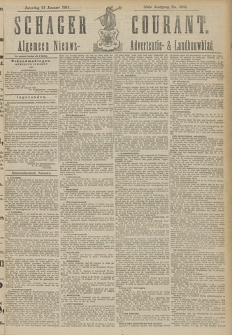 Schager Courant 1911-01-21