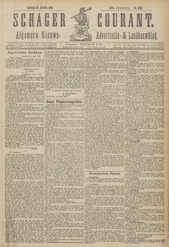 Schager Courant 1920-01-20