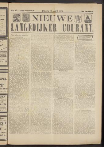 Nieuwe Langedijker Courant 1925-04-21