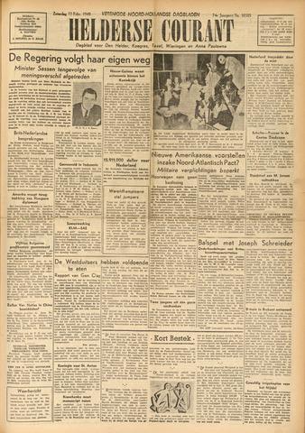 Heldersche Courant 1949-02-12