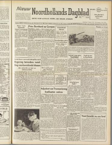 Nieuw Noordhollandsch Dagblad : voor Alkmaar en omgeving 1950-01-19