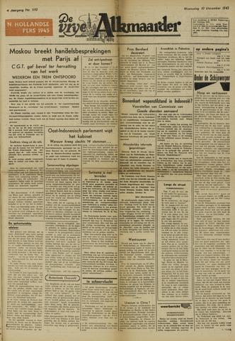 De Vrije Alkmaarder 1947-12-10