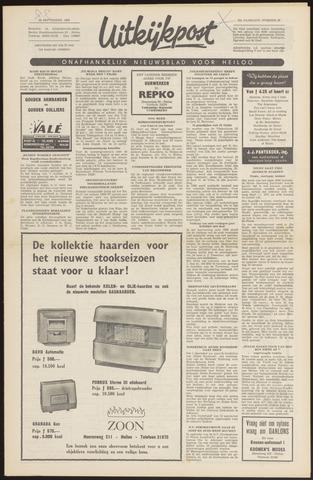 Uitkijkpost : nieuwsblad voor Heiloo e.o. 1966-09-22