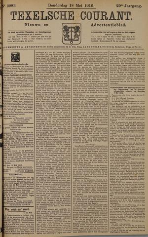 Texelsche Courant 1916-05-18