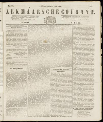 Alkmaarsche Courant 1876-06-25