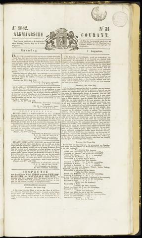 Alkmaarsche Courant 1842-08-01