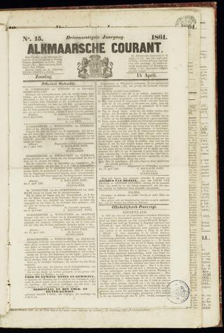 Alkmaarsche Courant 1861-04-14