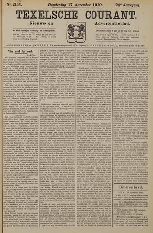 Texelsche Courant 1910-11-17