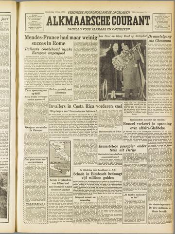 Alkmaarsche Courant 1955-01-13