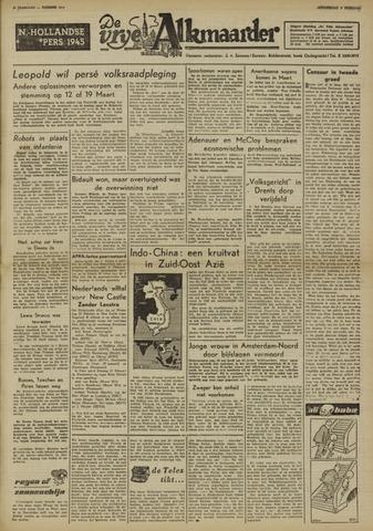 De Vrije Alkmaarder 1950-02-09