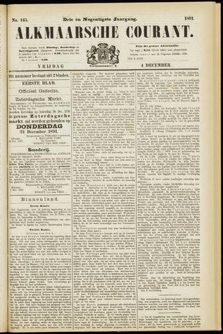 Alkmaarsche Courant 1891-12-04