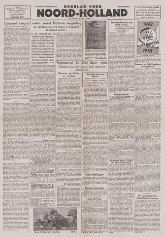 Dagblad Noord-Holland, Schager editie 1943-11-20