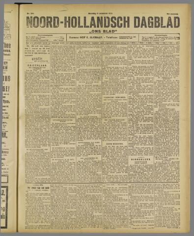 Ons Blad : katholiek nieuwsblad voor N-H 1922-12-18
